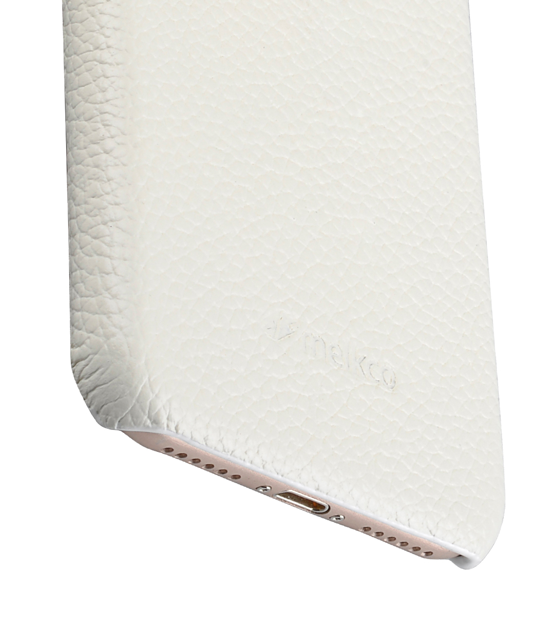 """Melkco Premium Leather Snap Cover for Apple iPhone 7 / 8 (4.7"""")- White LC"""