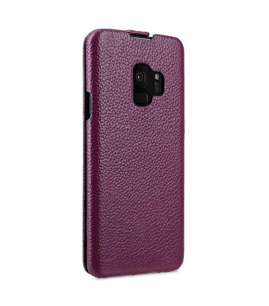 Melkco Premium Leather Case for Samsung Galaxy S9 - Jacka Type (Purple LC)