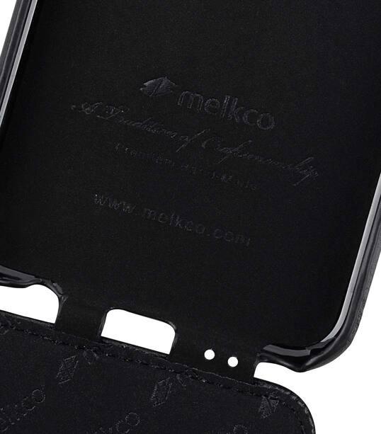 Melkco Jacka Series Premium Leather Jacka Type Case for Huawei P20 Lite - ( Black )