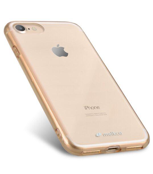 "Melkco PolyUltima Case for Apple iPhone 7 / 8 (4.7"") - Transparent Gold"