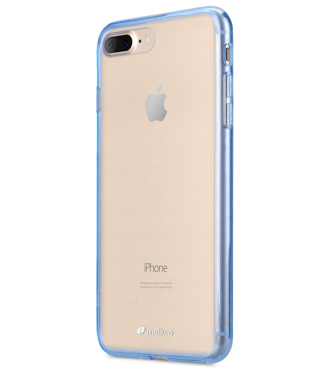 "Melkco Poly Ultima Case for Apple iPhone 7 / 8 Plus (5.5"") - Transparent Blue"