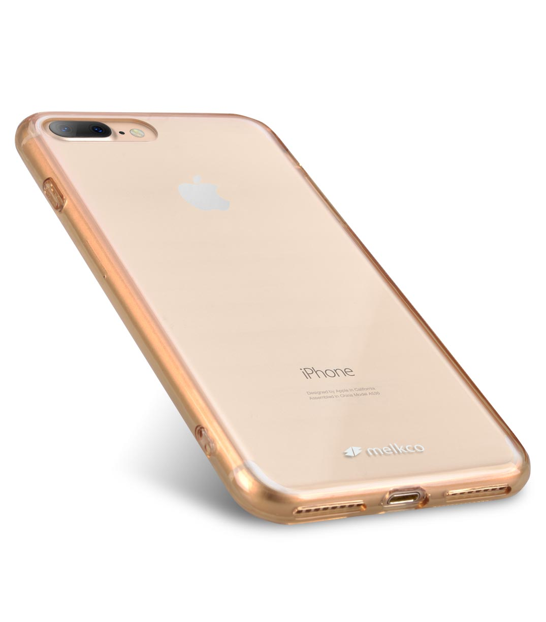 "Melkco PolyUltima Case for Apple iPhone 7 / 8 Plus (5.5"") - Transparent Gold"
