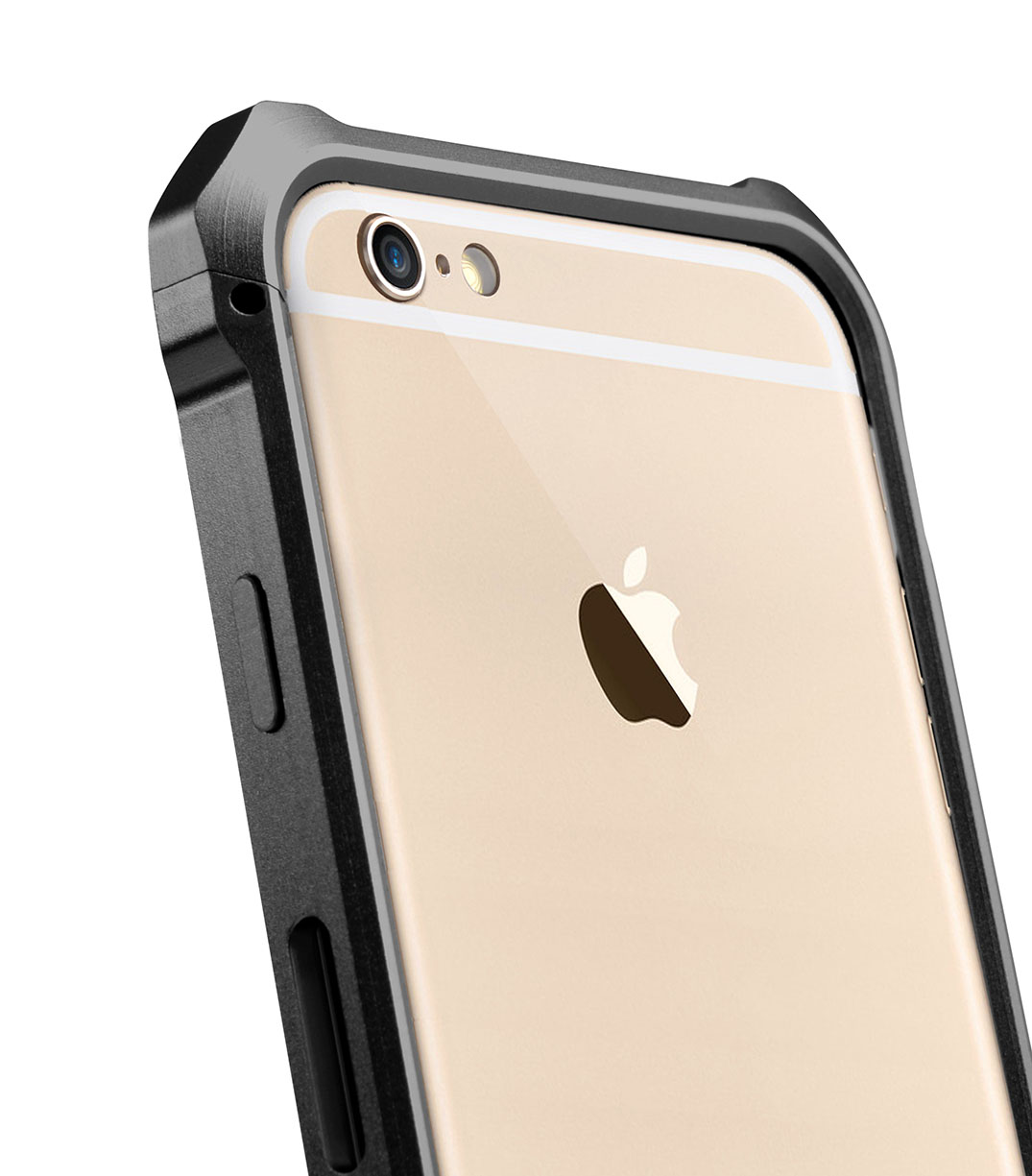 "Melkco Edge Back Bumper for Apple iPhone 6 (4.7"") - Metallic Black"