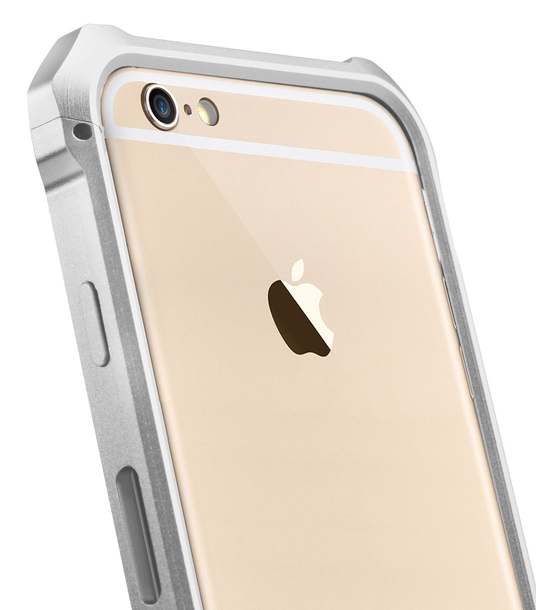 "Melkco Edge Back Bumper for Apple iPhone 6 (4.7"") - Metallic White"