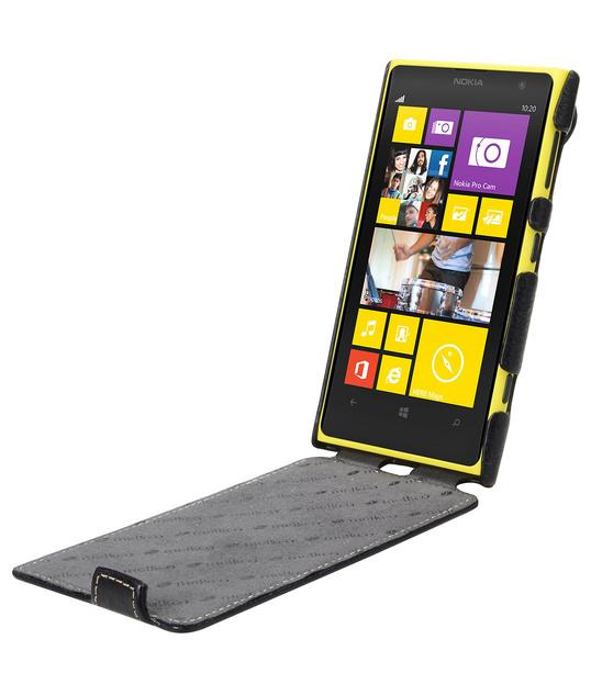 Melkco Premium Leather Case for Nokia Lumia 1020 - Jacka Type (Black LC)
