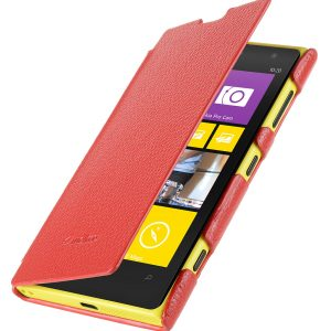 Premium Leather Case for Nokia Lumia 1020 - Face Cover Book Type (Ver.2)