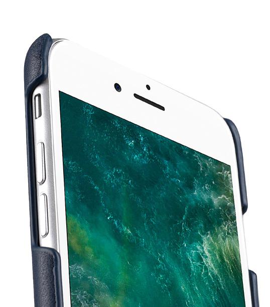 Melkco Fashion European Series Snap cover for Apple iPhone 7 / 8 (4.7') - (Navy)