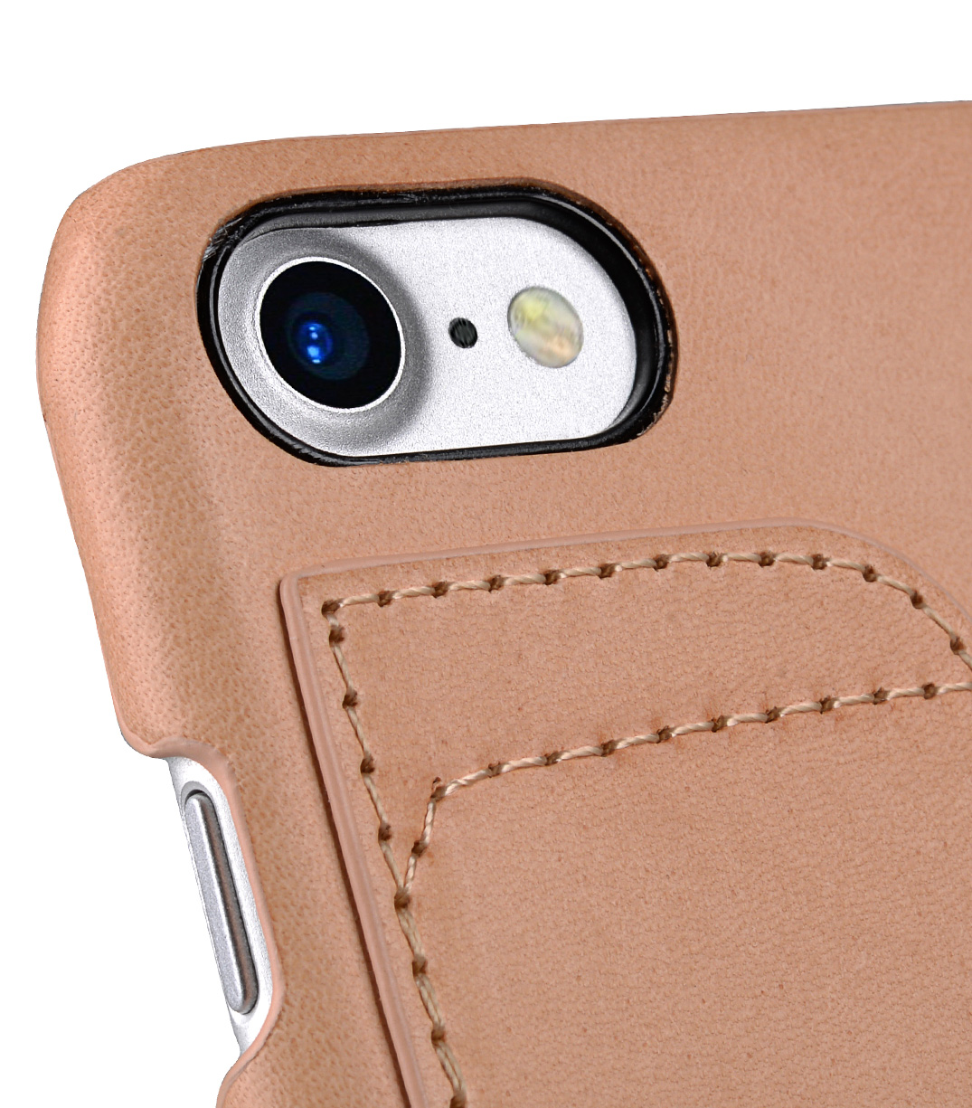 Melkco Fashion European Series Snap cover for Apple iPhone 7 / 8 (4.7') - (Natural Shelly Belly)