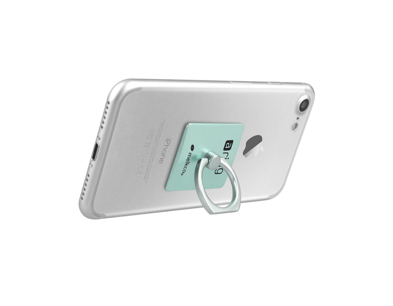 Melkco aring Universal Grip (Stand Smartphone Holder) - (Tiffany Blue)