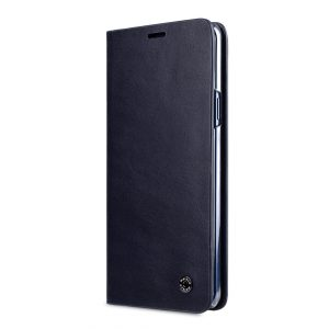 Melkco Fashion Cocktail Series Premium Leather Slim Flip Type Case for Samsung Galaxy S9 - (Navy)