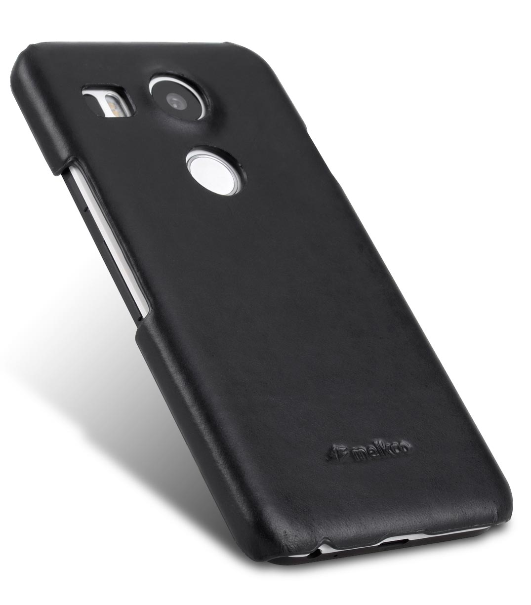 Melkco Premium Genuine Leather Snap Cover Case For LG Nexus 5X (Traditional Vintage Black)