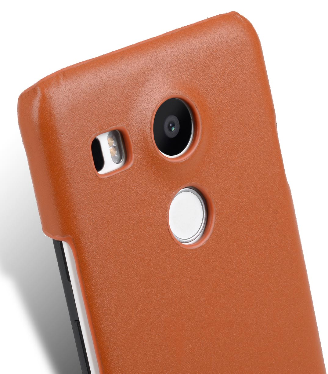 Melkco Premium Genuine Leather Snap Cover Case For LG Nexus 5X (Traditional Vintage Brown)