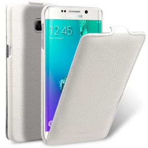 Premium Leather Cases for Samsung Galaxy S6 Edge - Jacka Type