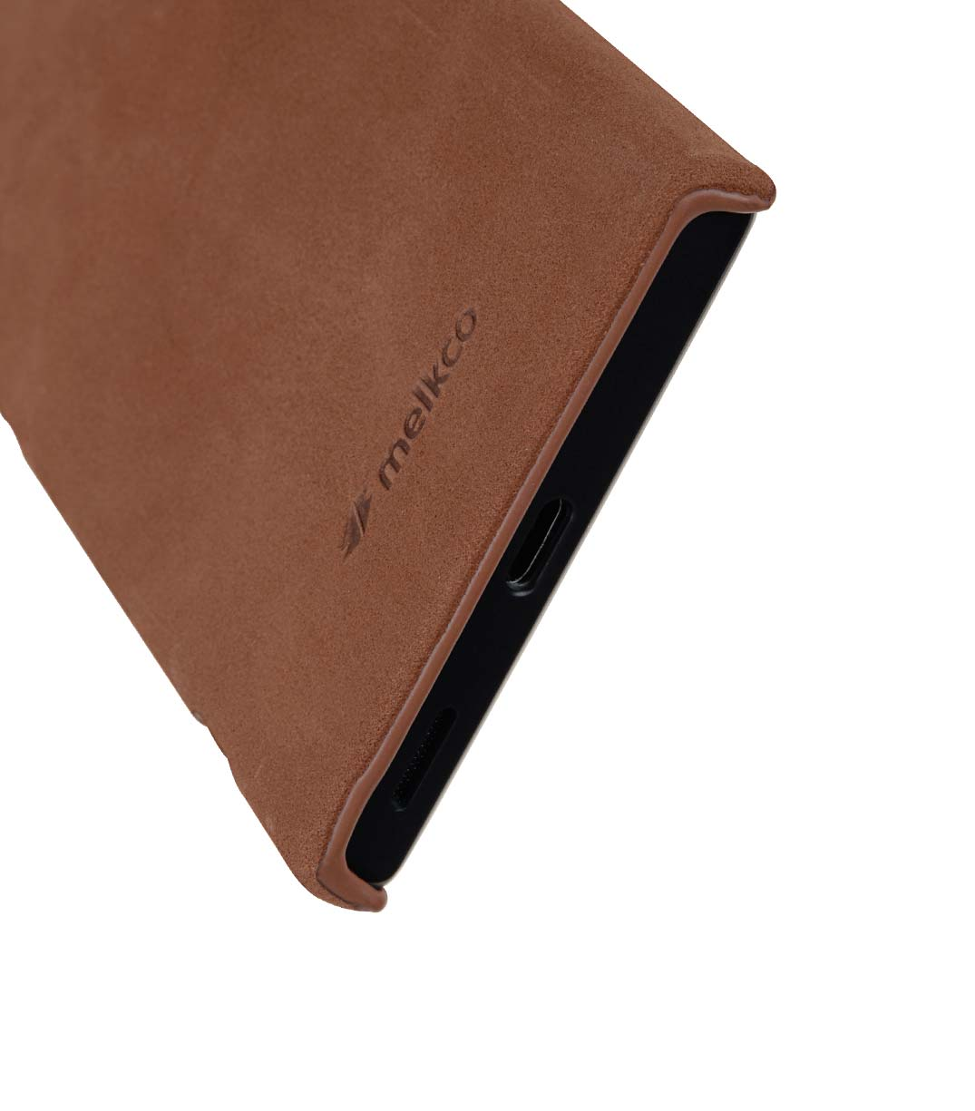 Melkco Premium Leather Snap Cover for Sony Xperia XA1 Ultra - ( Classic Vintage Brown )