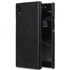Premium Leather Snap Cover for Sony Xperia XA1