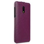 Premium Leather Case for Nokia 6 - Jacka Type (Purple LC)