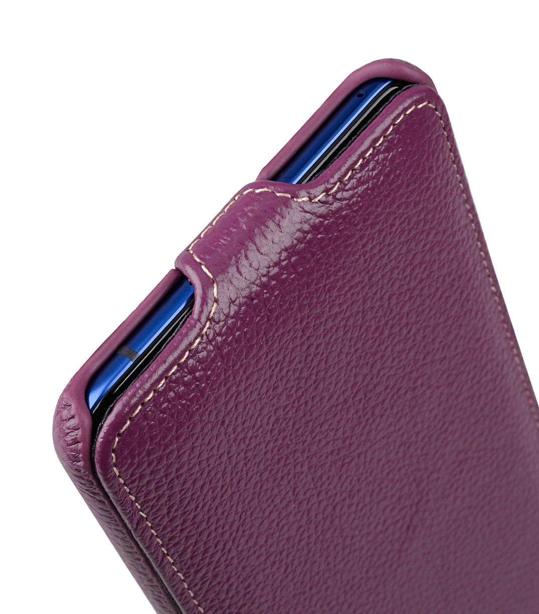 Melkco Premium Leather Case for HTC U Ultra - Jacka Type ( Purple LC )