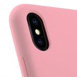 Melkco Aqua Silicone Case for Apple iPhone X - (Pink)