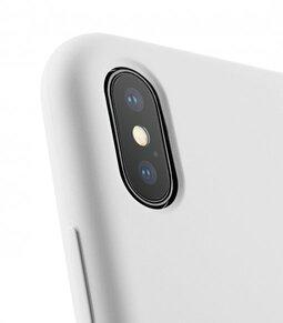 Melkco Aqua Silicone Case for Apple iPhone X - (White)