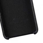 Melkco Premium Leather Coaming Pocket Case for Apple iPhone XS Max - (Black WF)