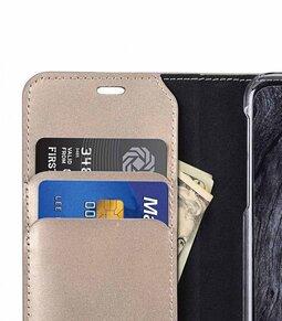 Melkco Fashion Cocktail Series Premium Leather Slim Flip Type Case for Apple iPhone X - ( Gold )