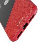 Melkco Kubalt Series Edelman Rugged Case for Apple iPhone X - (Red / Red)
