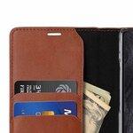 Melkco Fashion Cocktail Series Premium Leather Slim Flip Type Case for Samsung Galaxy Note 9 - ( Orange Brown )