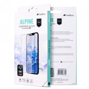 Melkco 3D Curvy 9H Tempered Glass Screen Protector for Huawei Mate 20 Pro - ( Transparent )