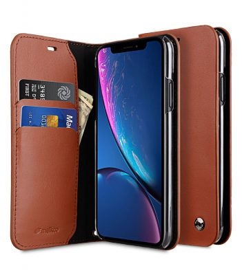 Fashion Cocktail Series Premium Leather Slim Flip Type Case for Apple iPhone XR