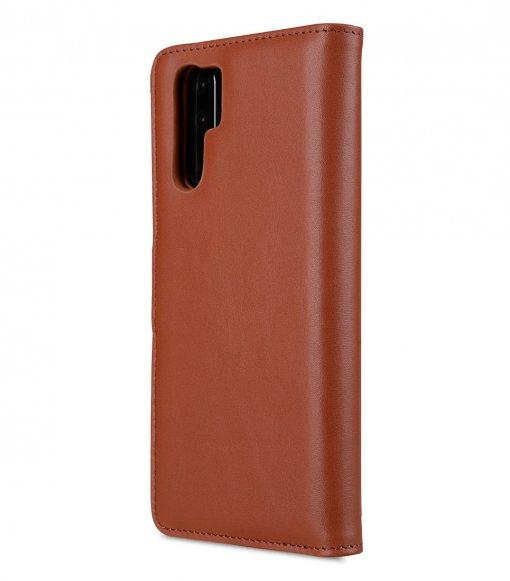 Melkco Alphard Series Premium Leather Alphard Type Case for Huawei P30 Pro - ( Orange Brown )