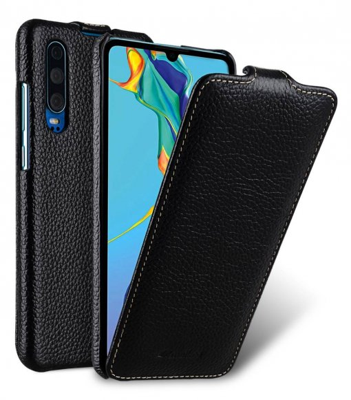 Premium Leather Jacka Type Case for Huawei P30