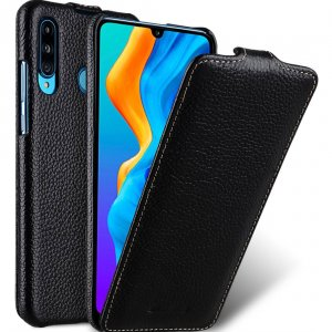Premium Leather Jacka Type Case for Huawei P30 Lite
