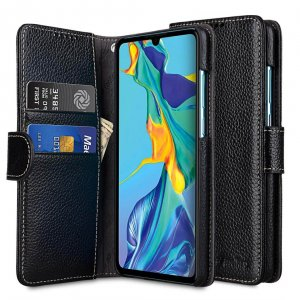 Premium Leather Wallet Book Type Case for Huawei P30