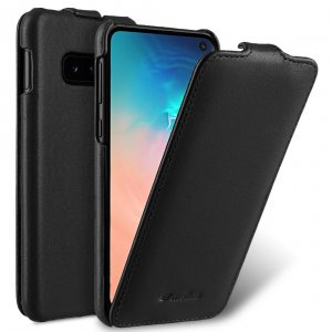 Premium Leather Jacka Type Case for Samsung Galaxy S10e
