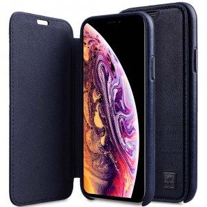 Origin Series Premium Leather Regal Face Cover Case for Apple iPhone X / XS