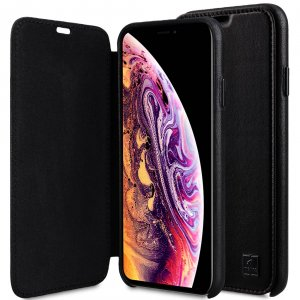 "Origin Series Premium Leather Regal Face Cover Case for Apple iPhone XS Max (6.5"")"