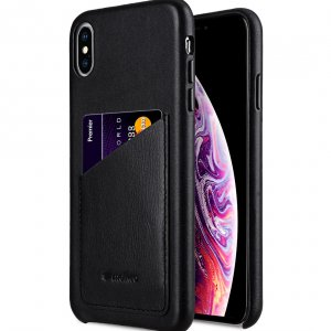 "Origin Series Premium Leather Regal Pocket Cover Case for Apple iPhone XS Max (6.5"")"