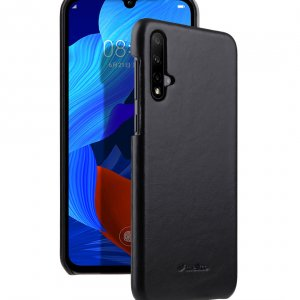 Premium Leather Snap Cover Case for Huawei Nova 5 / 5 Pro