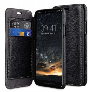 Premium Leather Face Cover Book Type Case for Apple iPhone 11 Pro Max