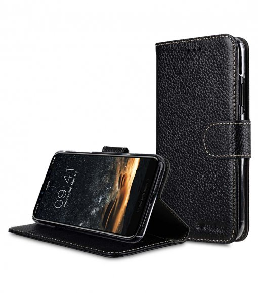 Premium Leather Wallet Book Clear Type Stand Case for Apple iPhone 11 Pro