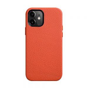 Origin Paris Series Clemence Leather Regal Snap Cover Case for Apple iPhone 12