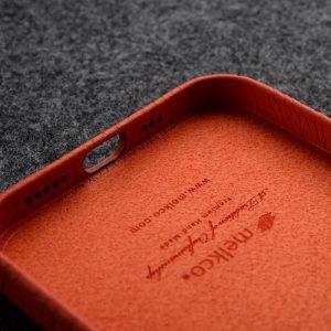 Origin Paris Series Clemence Leather Regal Snap Cover Case for Apple iPhone 12 Pro Max-5