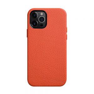 Origin Paris Series Clemence Leather Regal Snap Cover Case for Apple iPhone 12 Pro Max