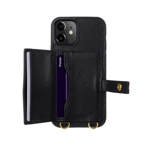 Melkco Fashion Paris series leather case with strap for iPhone 12 Pro Max-